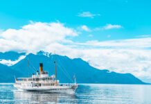 Touring Montreux Switzerland
